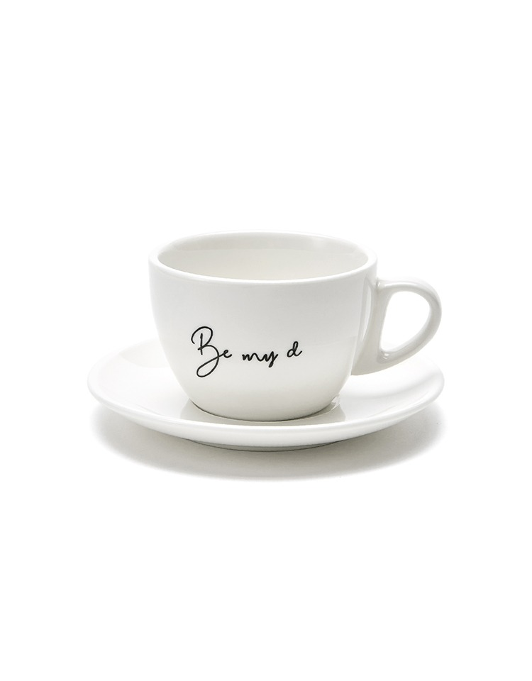 [BE MY D] lettering coffee cup SET