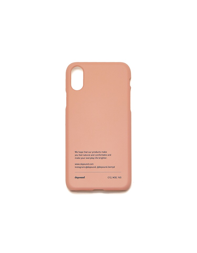[pink edition][BE MY D] phonecase (coral pink)
