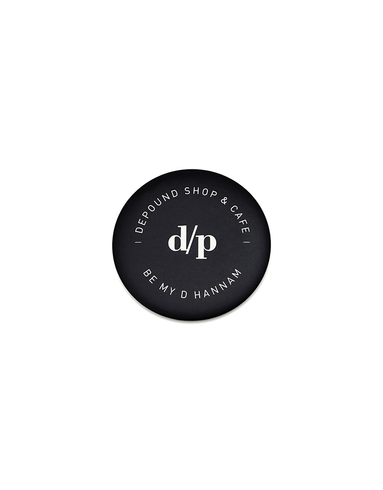 [BE MY D] hand mirror (black)