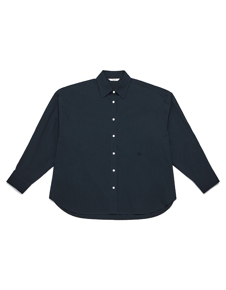 oversized shirts (navy)