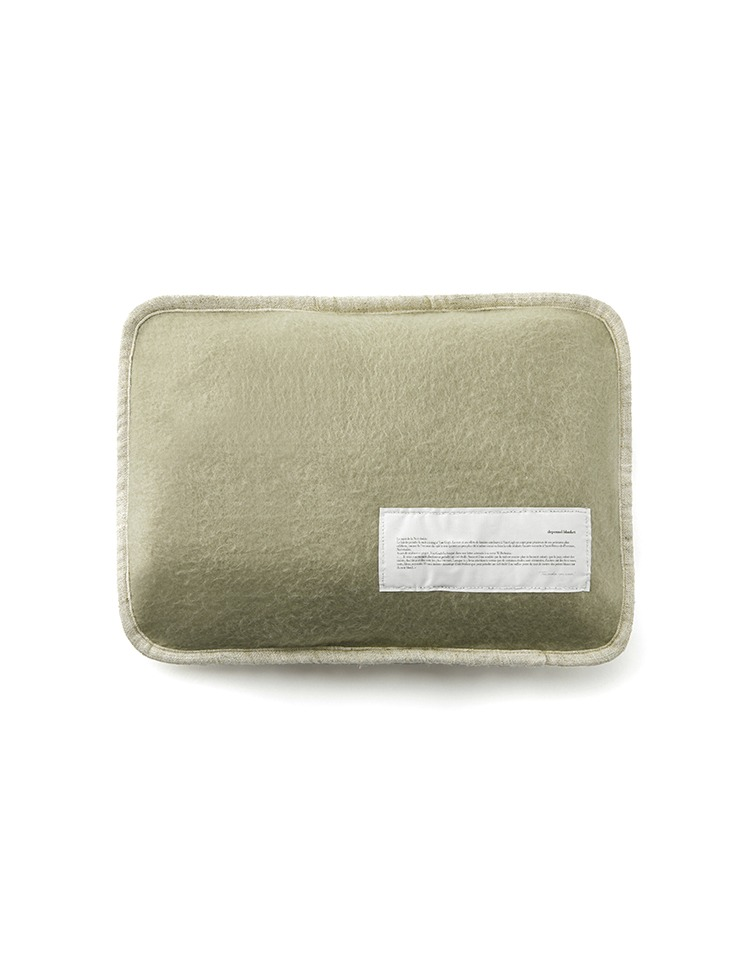 [homepage exclusive] cozy blanket (khaki)