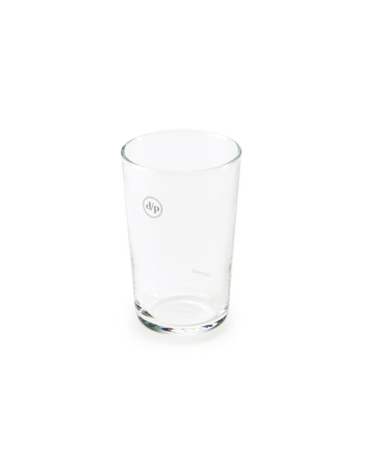 [homepage exclusive] d/p logo slim glass - white