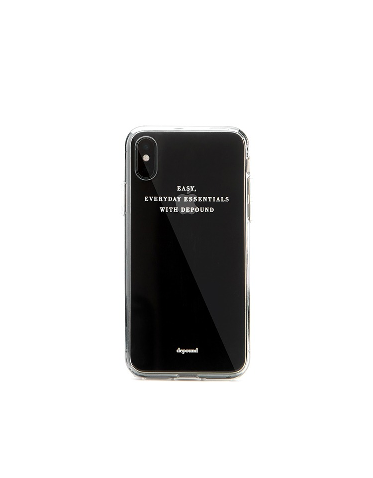 [homepage exclusive] clear phonecase (horizon S)