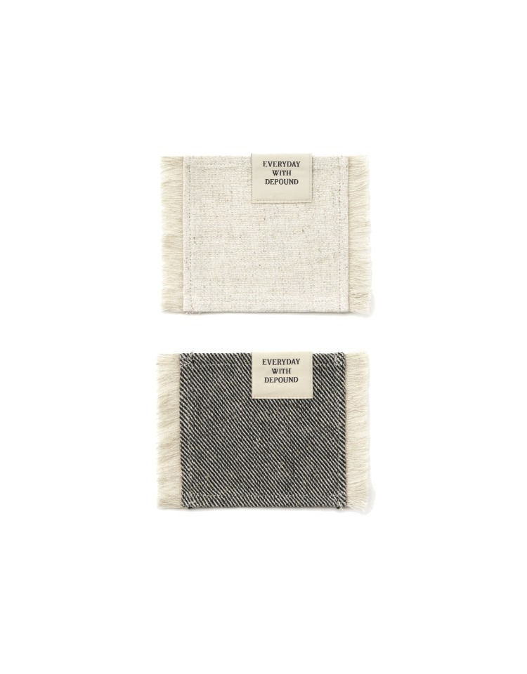 [homepage exclusive] fabric tea coaster SET