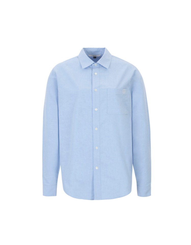 standard pocket shirts (sky blue)