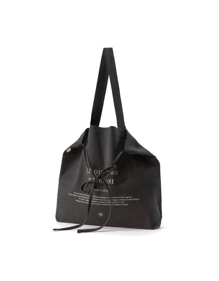 [homepage exclusive]Venice citybag - charcoal