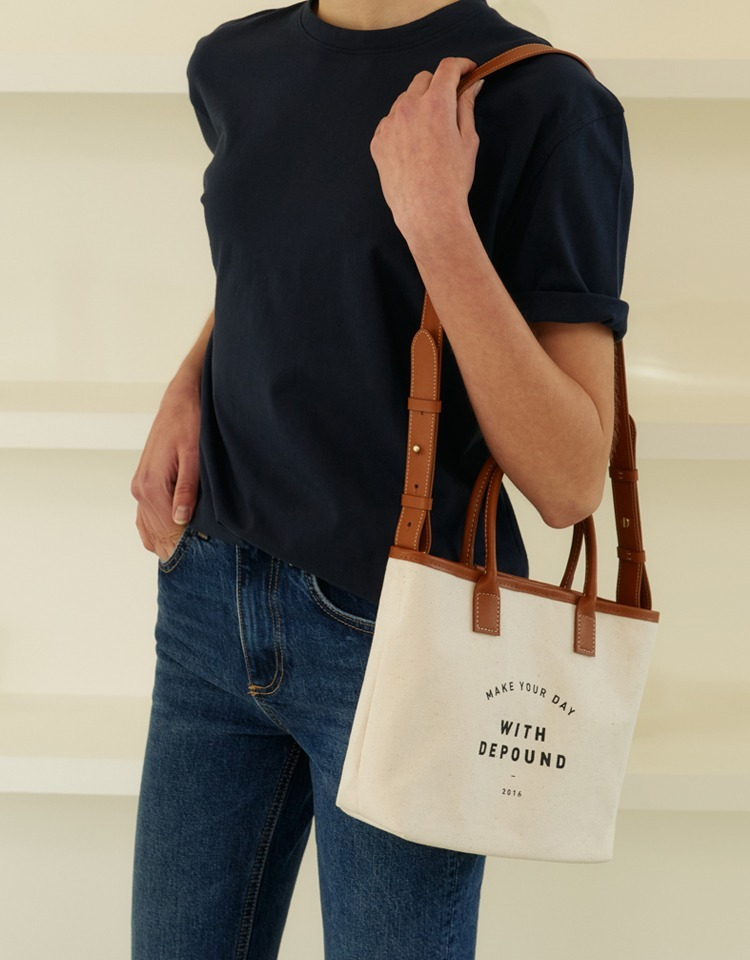 day bag (tote S) - camel